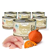 AniForte Katzenfutter Nass Land Chicken 6 x 200g – hochwertiges katzenfutter, katzenfutter ohne Zucker, katzenfutter...