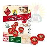 ChronoBalance® Hundekekse, Hundeleckerlies Selbermachen, Leckerli Backmischung (180g) für Hunde, lactosefrei, inkl. 12...