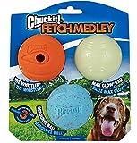Chuckit! CH2050520 Fetch Medley Bälle Medium 3-er Set