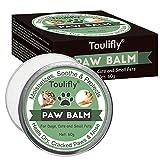 Toulifly Paw Balm, Paw Soother Cream, Nasen und Haut Balsam für Hunde & Katzen | Feuchtigkeitscreme zur Reparatur von Trockener...