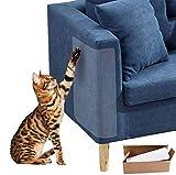 WELLXUNK 4PCS Kratzschutz for Katze Hund,Katze Kratzen Couch Schutz mit 20 Schrauben,Haustier Couch Schutz Stoppen Sie Katzen die...