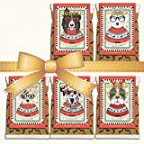 Bubeck   Weihnachtskekse 5 x 210g   getreidefreier Hundesnack mit Truthahn & Kartoffel